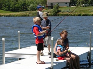 great fishing for individuals, groups and families in South Dakota